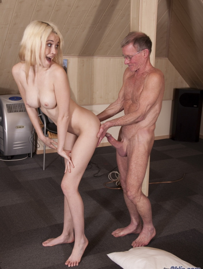 Tiffany Fox - Old Man Fuck Hot Blonde Teen [HD 720p] - BeautyAndTheSenior