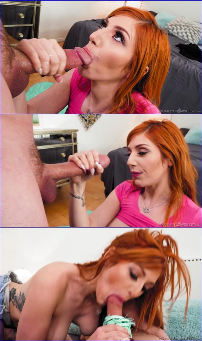Big Tits Redhead Blowjob