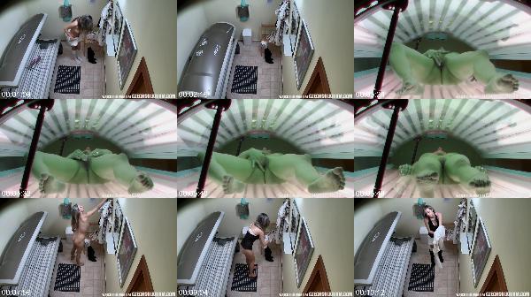 0687 Spy Nice Blonde Girl Masturbating In Solarium Hidden Cam - Nice Blonde Girl Masturbating In Solarium Hidden Cam / SpyCam Sex Video