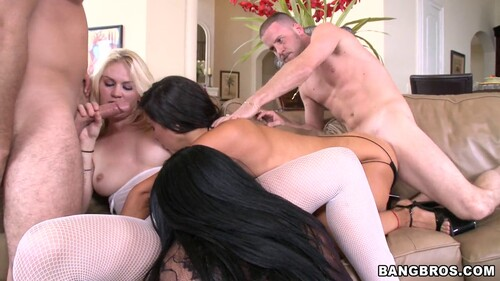Three Huge Asses Get Pounded