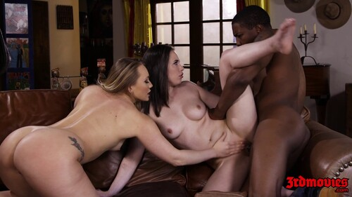 Awesome Interracial Threesome