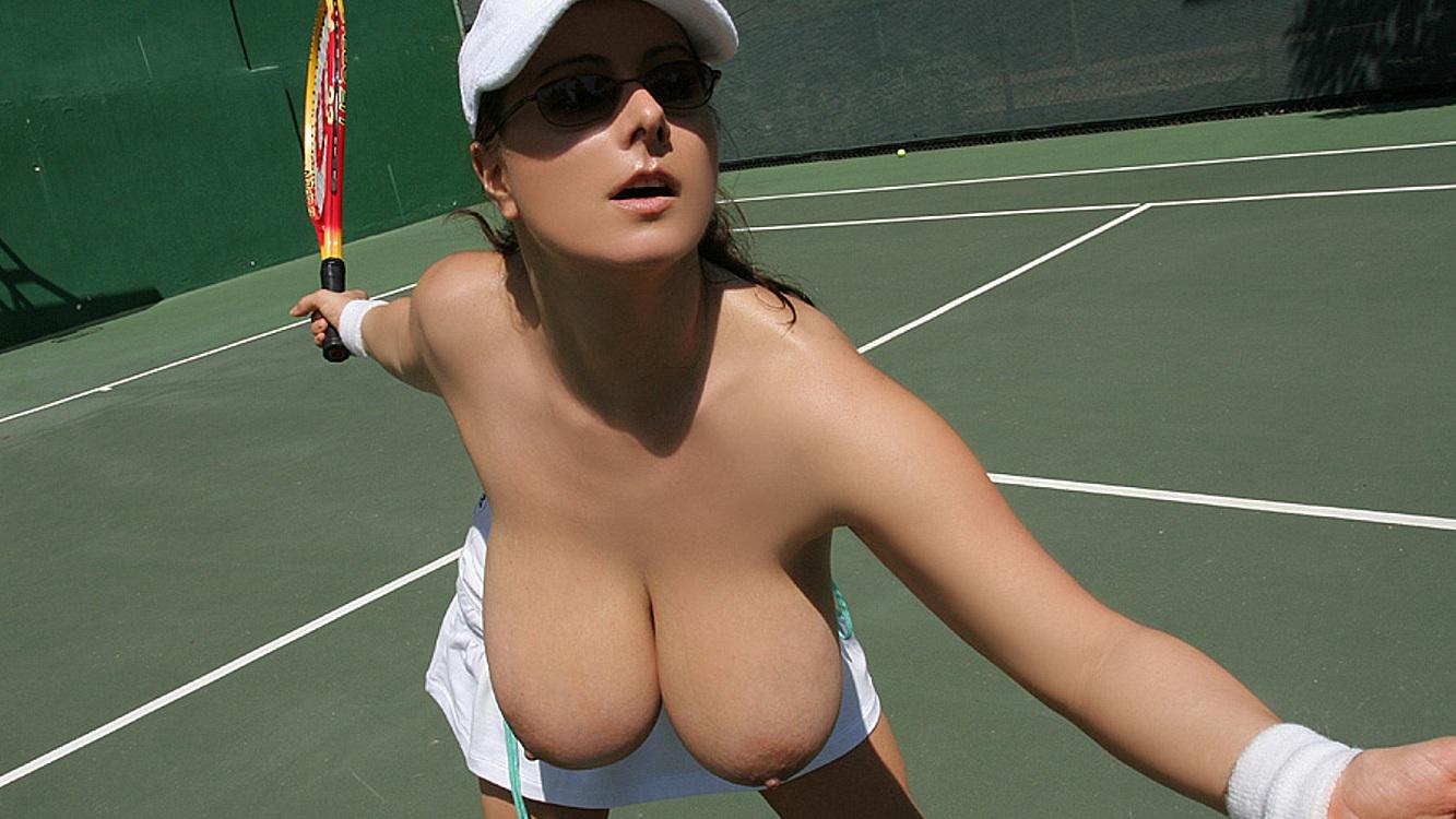 Tennis slut gets plowed