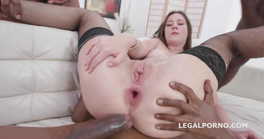LegalPorno - Giorgio Grandi - BlackEned with Alessandra Amore 4 white then 4 black No Pussy / Balls Deep Anal / DAP / Gapes / Swallow and Facial GIO1290