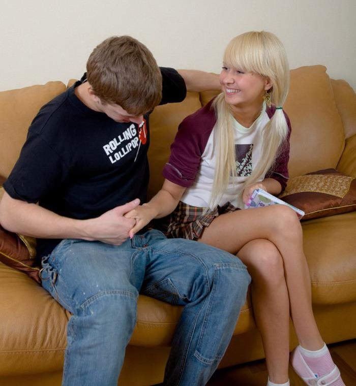 Aimee - Russian Blonde Teen Fuck SD