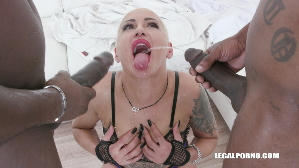 LegalPorno - Interracial Vision - Lolly Glam tries african champagne IV453
