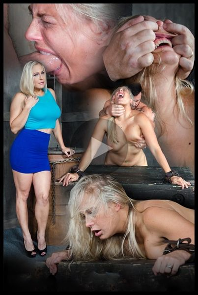 Angel Allwood Bent Over and Roughly Fucked In Belt Bondage! (2016/HD/584 MB)