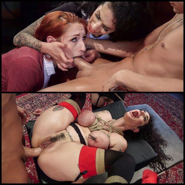 Arabelle Raphael Gets Sweet Revenge on Rich Bitch Violet Monroe (2016/HD/2.82 GB)