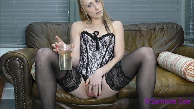 sammiecee - Piss Drinking Slave Training