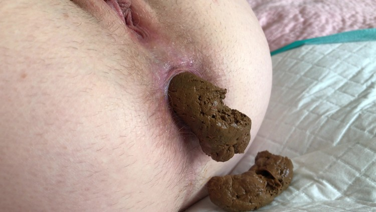 wastedwetness - Close up of my wife shitting
