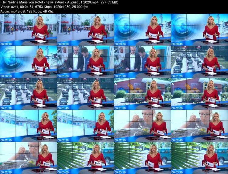 Nadine Marie von Rötel - German TV Host - August 2020