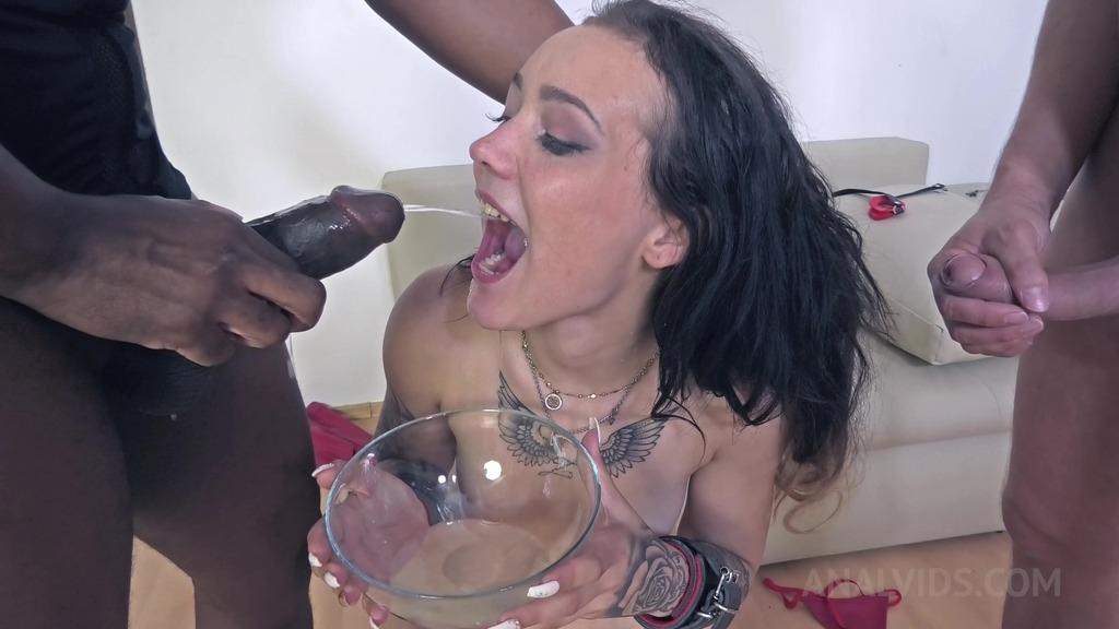 LegalPorno - NF Studio - Hardcore BDSM threesome with Lady Zee (DAP, Deepthroat, Piss Drinking) NF024