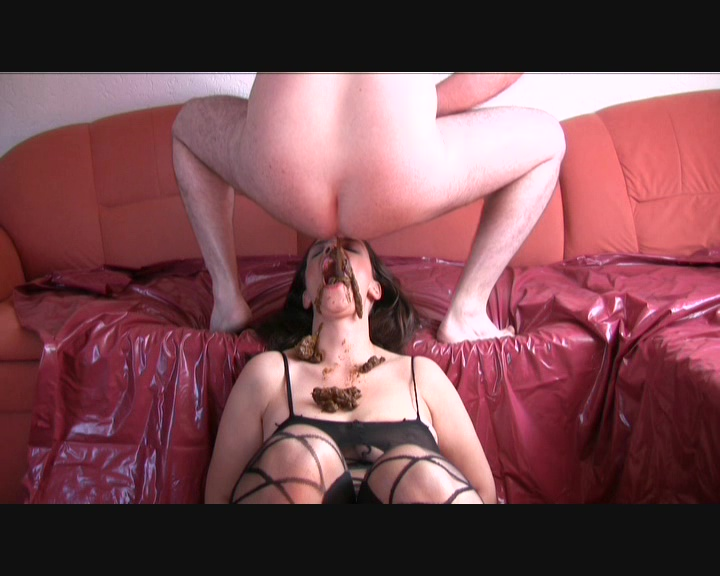 ScatqueenJenny - My First Time - A Man Shits in My Mouth