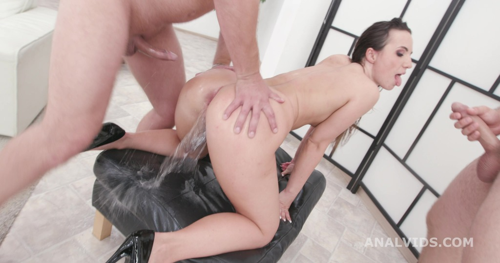 LegalPorno - Giorgio Grandi - Fucking Wet, Kristy Black 4on1 Balls Deep Anal, Gapes, Pee Drink and Facial GIO1492