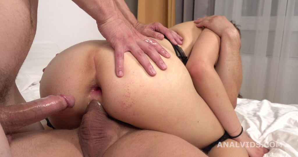 LegalPorno - Giorgio Grandi - My First DP, Alice Fiery 2on1 Ball Deep Anal, DP, Gapes and Cum in Mouth GL263