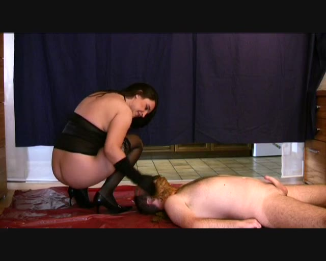 ScatqueenJenny - I cover his face with my shat