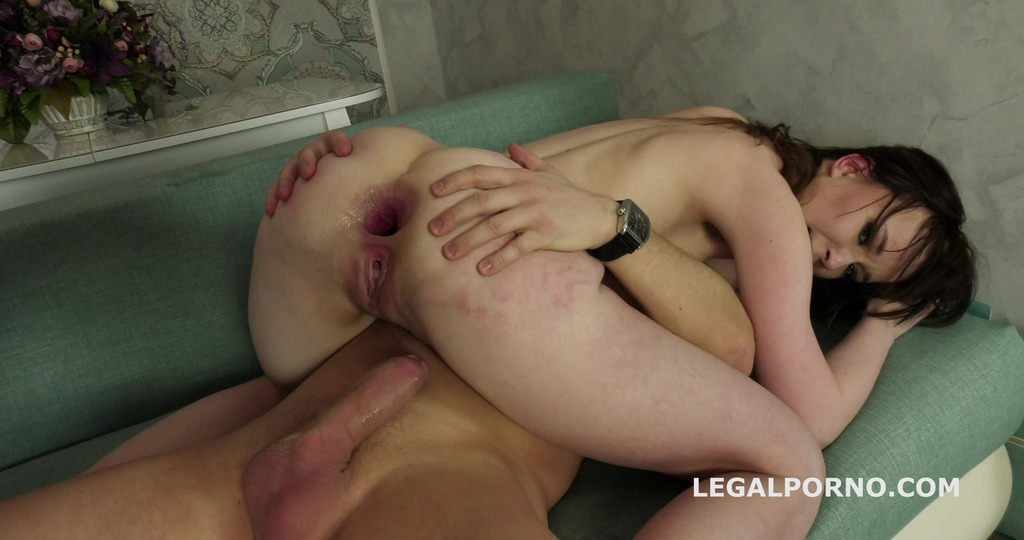 LegalPorno - Giorgio Grandi - That's a DAP, isn't it? Sweetie Plum first time 2 dicks in the ass with Balls Deep Anal, DAP, Gapes and Facial GL149