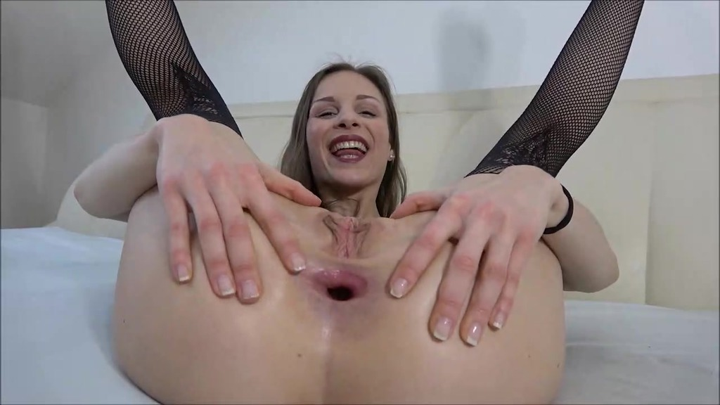 LegalPorno - Outside the Studio - Mary Wet toys and tastes her ass with a glass dildo OTS102