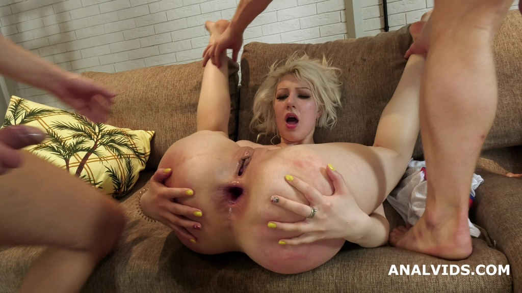 LegalPorno - Giorgio Grandi - Monika Lawless welcome to Porn with Balls Deep Anal, DP, Gapes, Manhandle and Cum in Mouth GL174