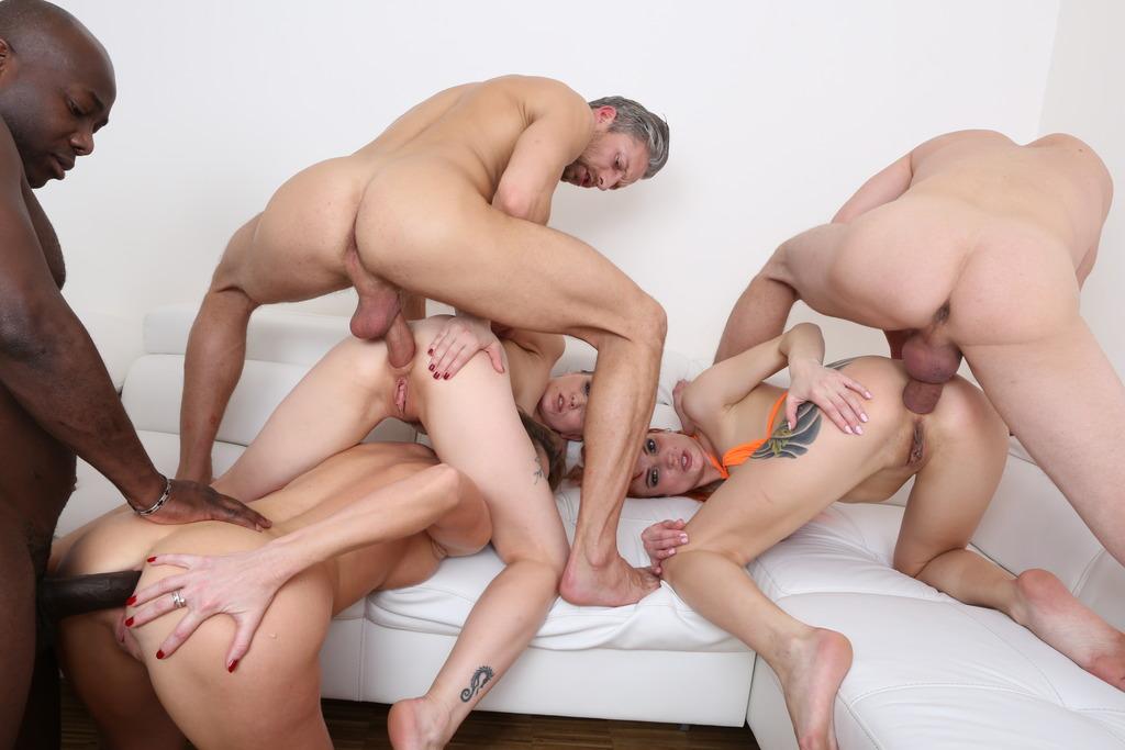 LegalPorno - Kinky Sex - Kinky anal orgy with Kessie Shy, Ally Style & Nika KS012