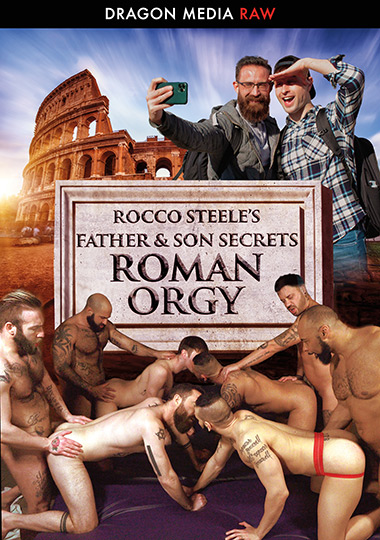 Rocco Steele's Father And Son Secrets - Roman Orgy (2020)