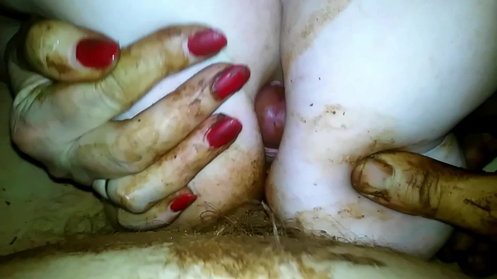 dirtyamateurs - messy titty fucking and cumming