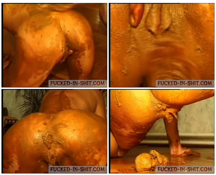 Crazy scat loving couple pooping in each other mouth and fucking in shit xxx porn photo