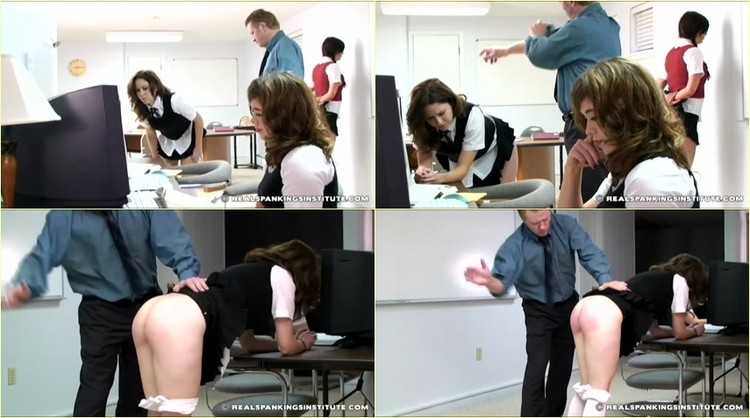 Handjob spanking art