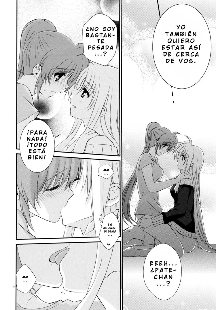 Yuri con sexo - Passion Error - Mahou Shoujo Lyrical Nanoha 39