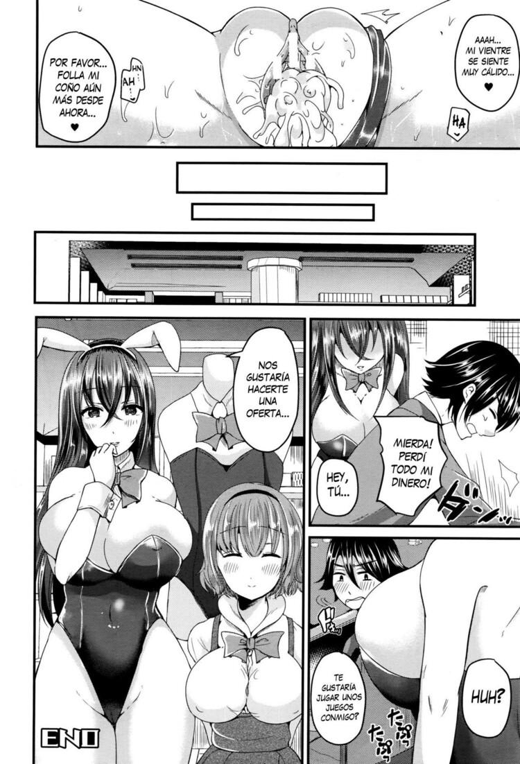 Nyotaika Shite Bunny Girl ni Naru (Me he vuelto una conejita prostituta) 41