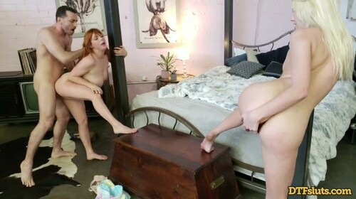 DTF Sluts – Kenna James And Penny Pax Surprise Threesome (2020)