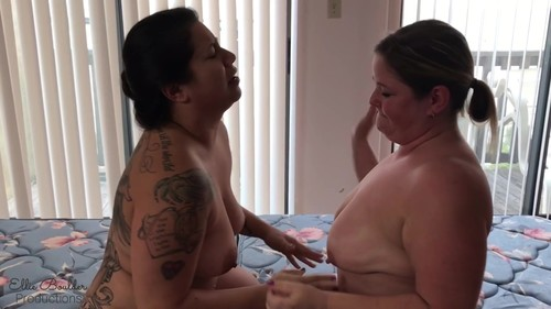 Mandie Maytag - my 1st sex fight rd 3 tough titty tussle FF