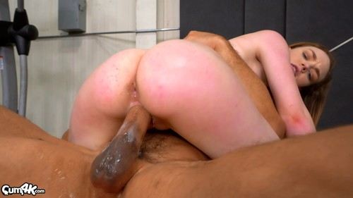 Samantha has a workout then takes multiple creampies 1080p
