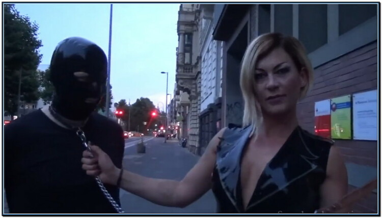 Hello You Horny Pig - You Also Want To Stroll With Me Femdom