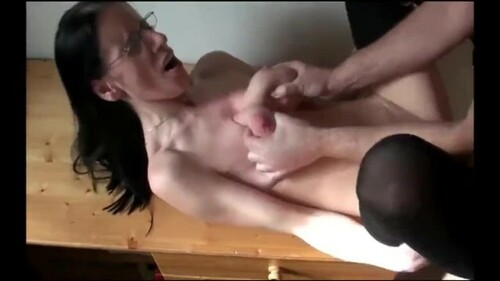 Shameless busty milf used hard by her boss for promotion