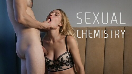 Real sexual chemisrty - amateur suck & fuck with hot creampie