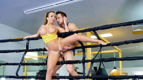 teamskeet.com - Busty Babe Goes Boxing