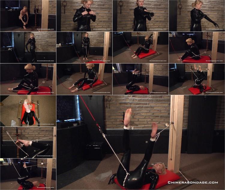 Anita bauch self bondage chair