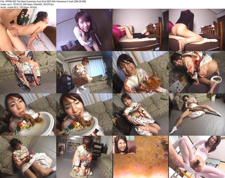 opmd-002 The Best Creampie Anal Scat Sex Miki Karasawa 3 (640x480, 268.38 Mb, Mp4)