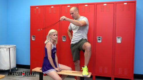 Gym Coach Mesmerizes Cheerleader Jessie Saint